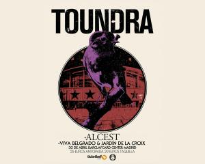 Concierto de Toundra, Alcest, Jardín de la Croix y Viva Belgrado en Barclaycard center, 30 de abril de 2016