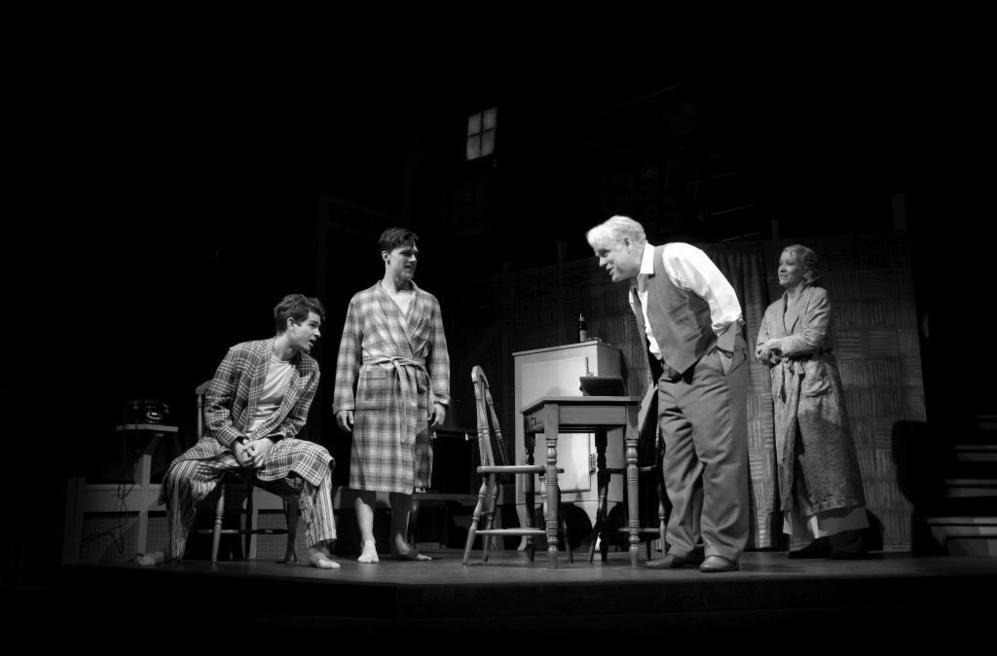 """Representación en Broadway de """"Muerte de un viajante"""", con Philips Seymour Hoffman"""