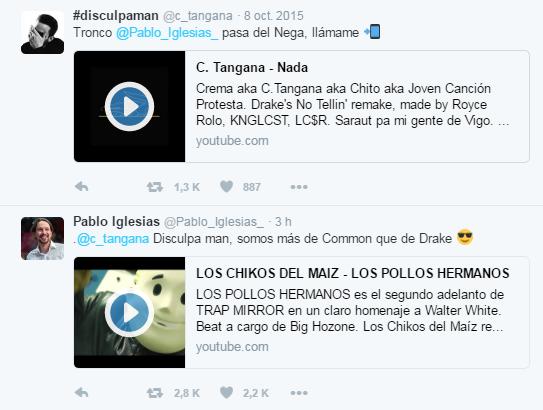 Pablo Iglesias responde a C Tangana