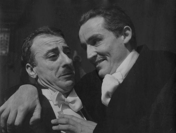 """Vittorio Gassman en """"Kean """", de Sartre"""