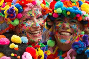 Fotografía de la celebración de Carnaval.