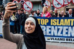 joven musulmana