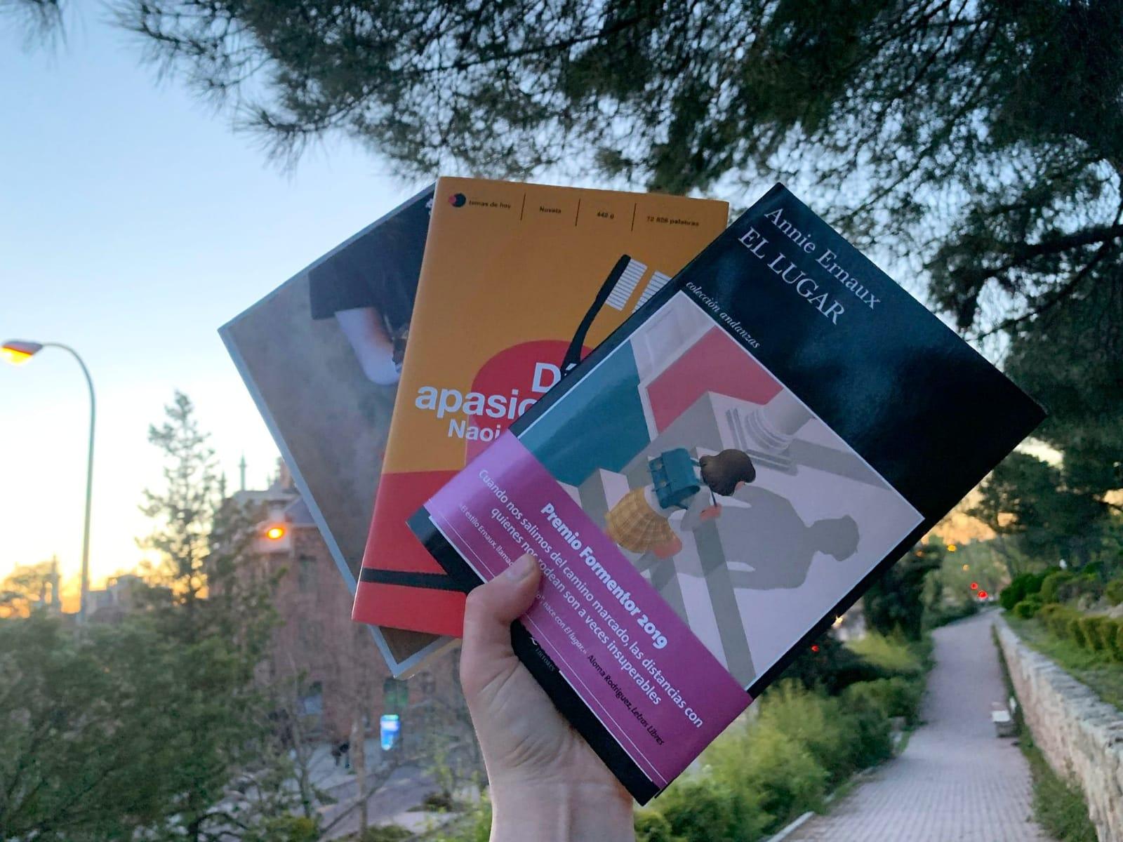Imagen de 3 libros de Annie Ernaux, Luisa Carnés y Naoise Dolan