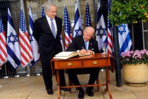 pactos israel y euu
